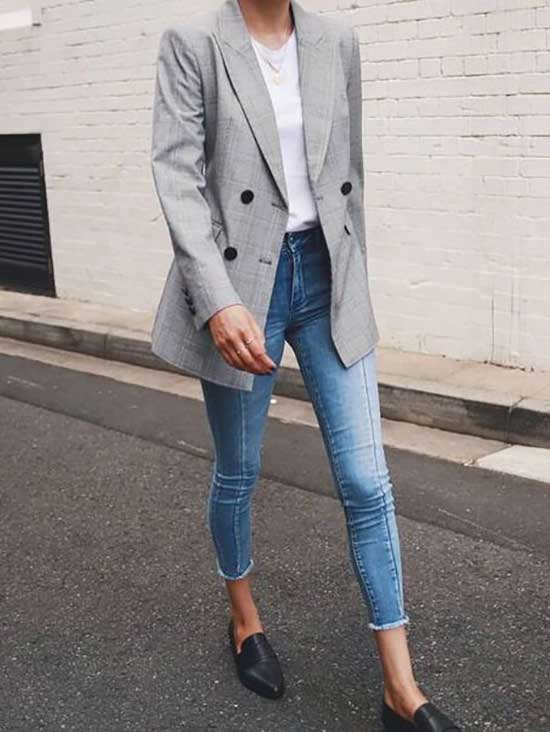 Cool Casual Blazer Outfits