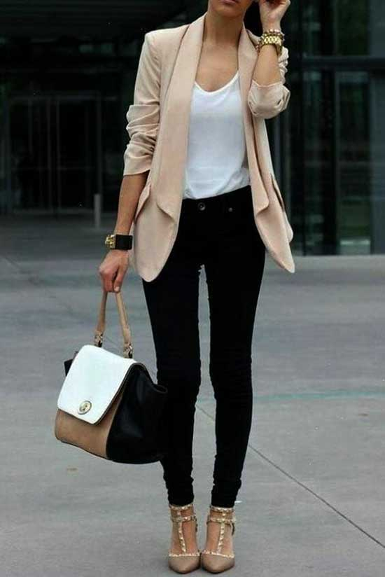 Cute Casual Blazer Outfits