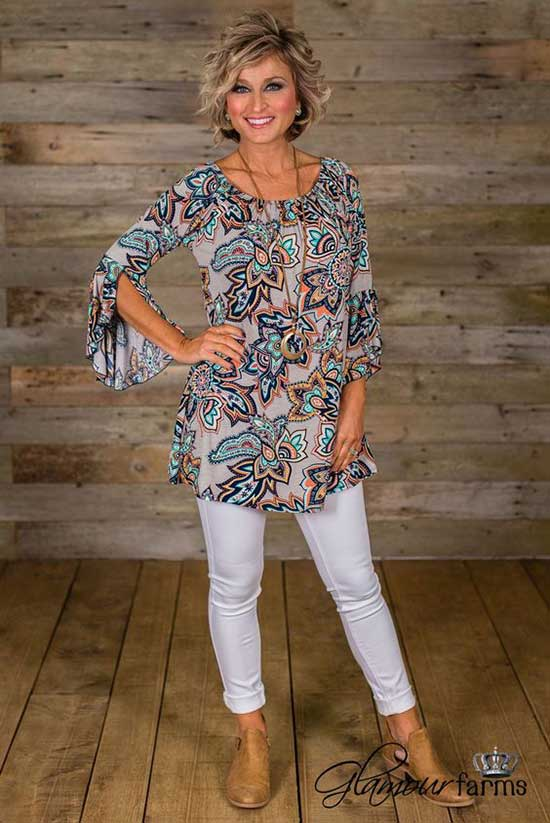 Cute Summer Outfits for 50 Year Old Woman