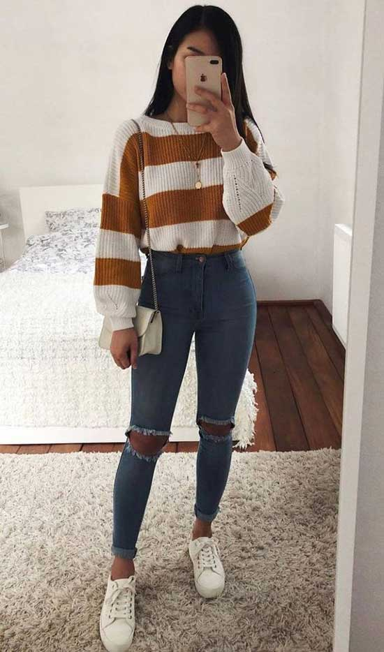 Daily Outfits with Skinny Jeans