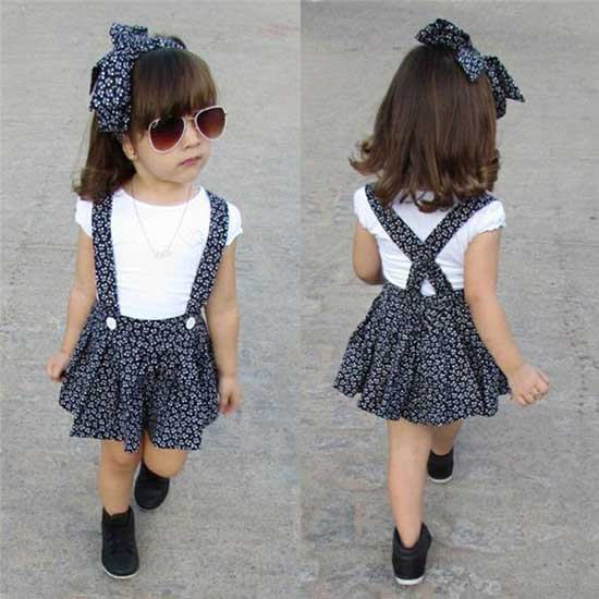 Little Girl Summer Fashion Clothes