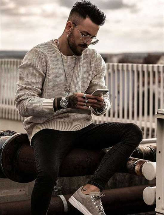 Date Night Fall Outfits for Men