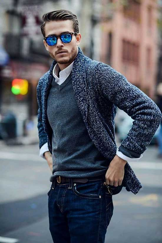 Date Night Winter Outfits for Men