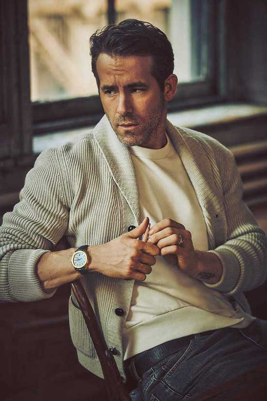 Ryan Reynolds Date Night Outfits for Men