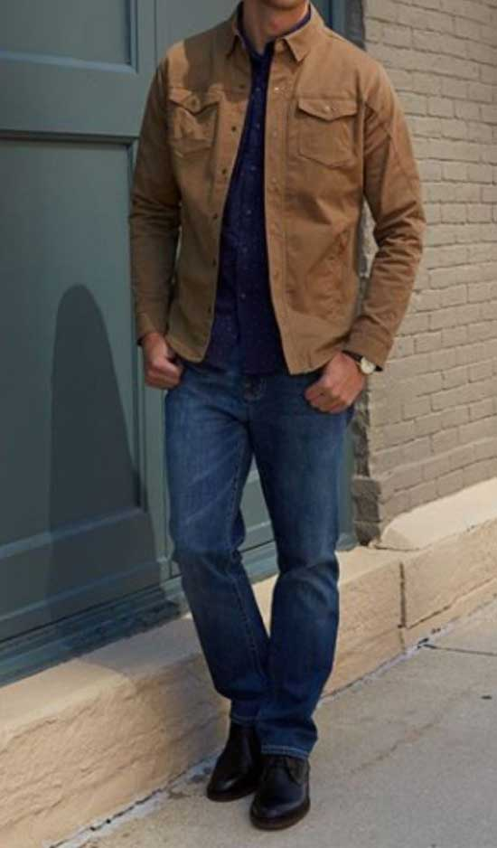 Modern Fall Outfits for Men-13