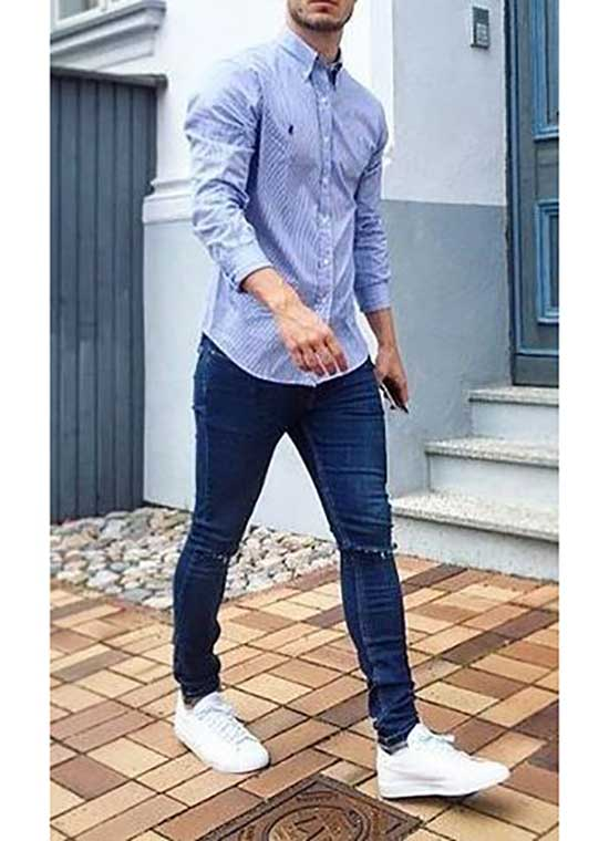 Fall Jeans Outfits for Men-14