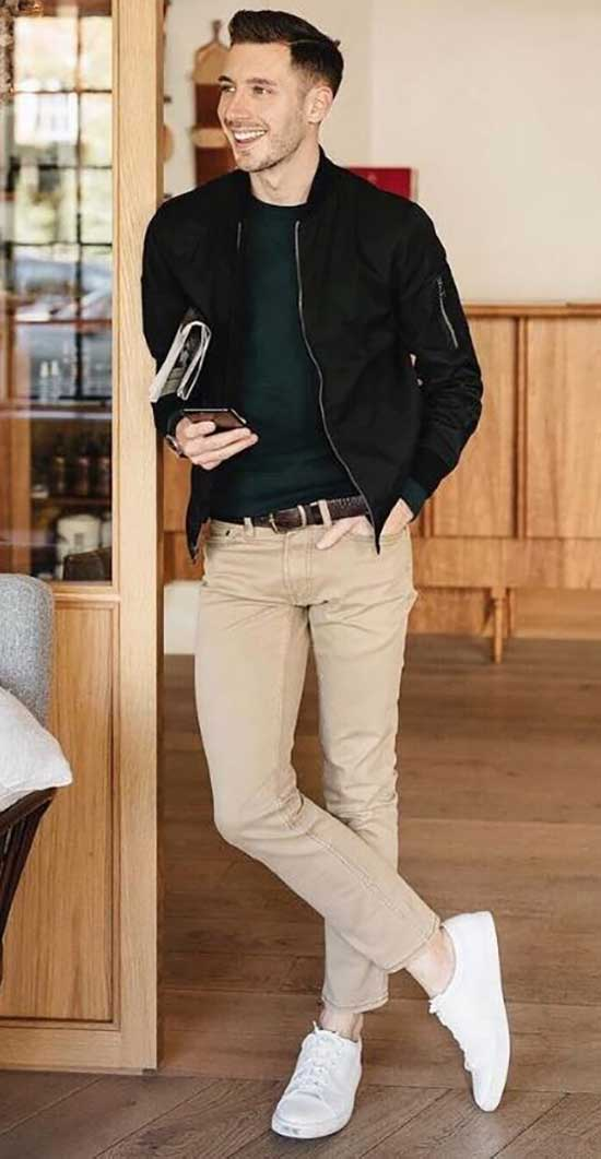 Cool Fall Outfits for Men-17