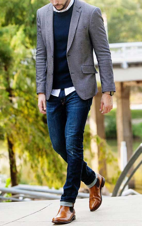 Comfy Fall Outfits for Men-19