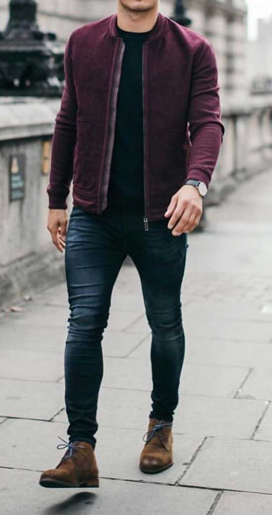 Easy Fall Outfits for Men-25