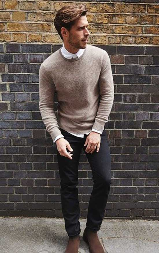 Winter Fall Outfits for Men-34