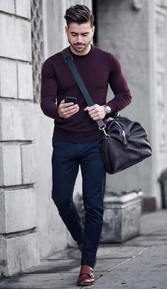 Stylish Fall Outfits for Men-35