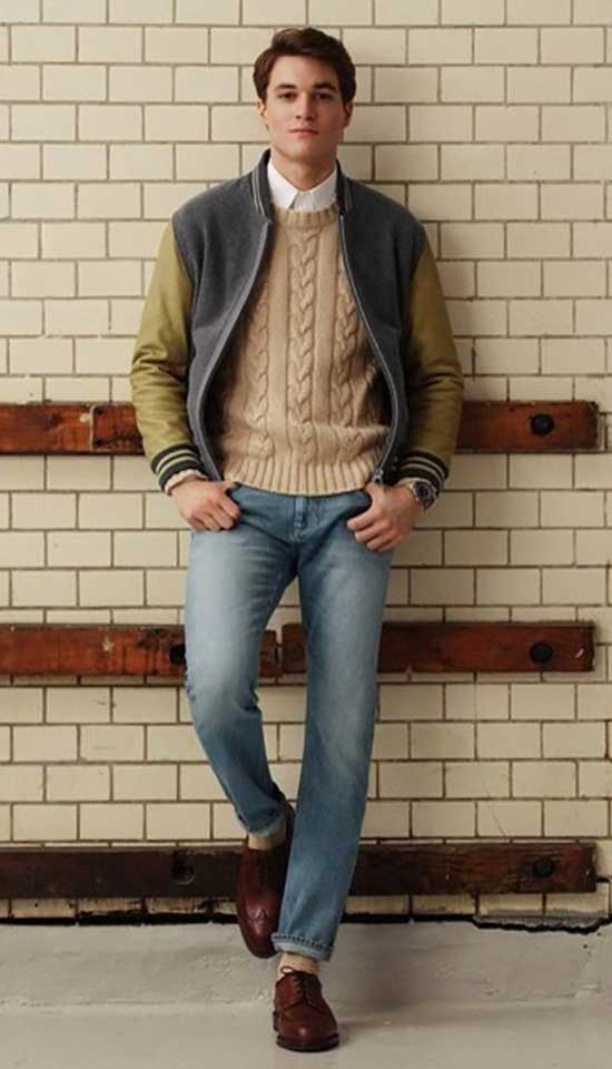 Preppy Fall Outfits for Men-6