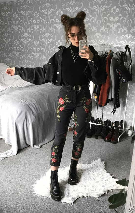 Casual Cute Grunge Outfits