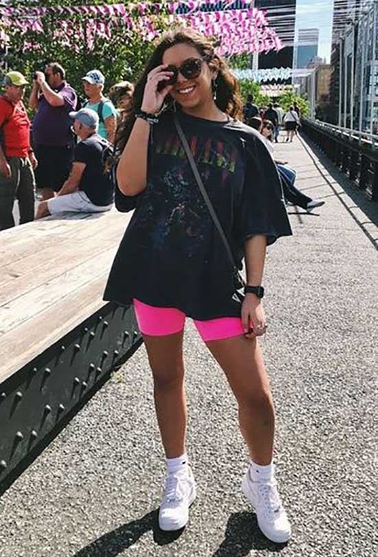 Chic Biker Shorts Outfits