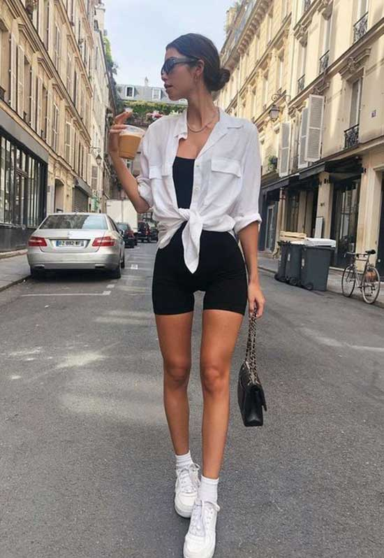 Outfits with Biker Shorts