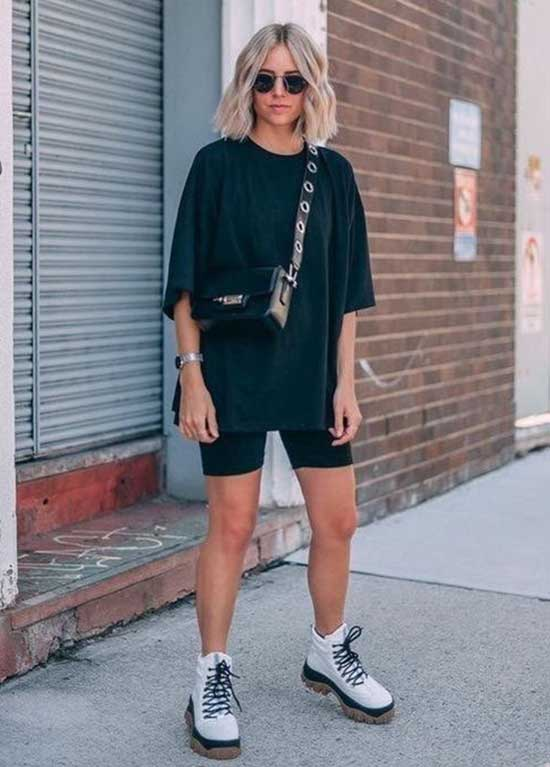 Summer Outfits with Biker Shorts