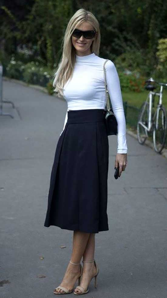 Conservative Work Skirt Outfits-11