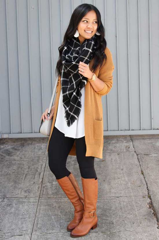 Cute Cardigan Outfits-12