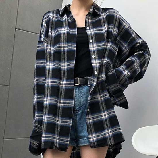 Flannel Shirt Outfit Ideas-28