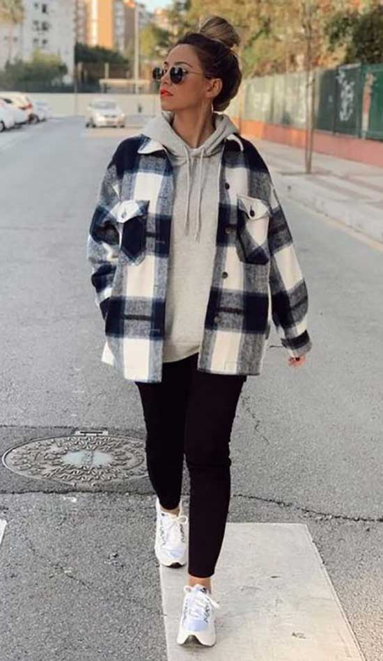 Flannel Shirt Outfit Ideas-30