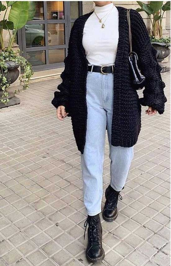 Aesthetic Cardigan Outfits-6