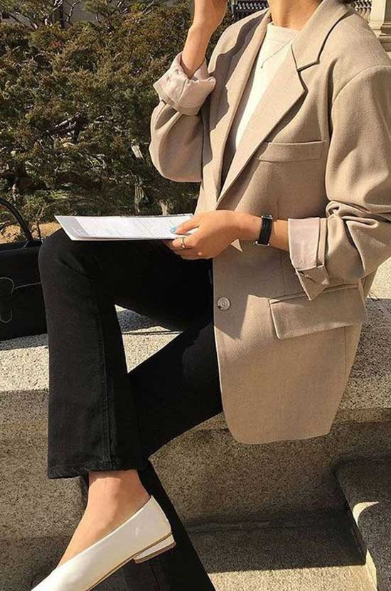 Conservative Work Blazer Outfits-6