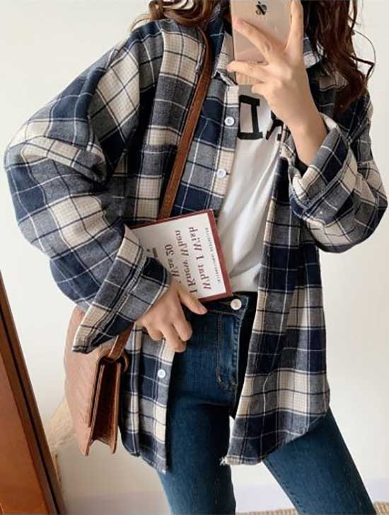 90s Flannel Shirt Outfit Ideas