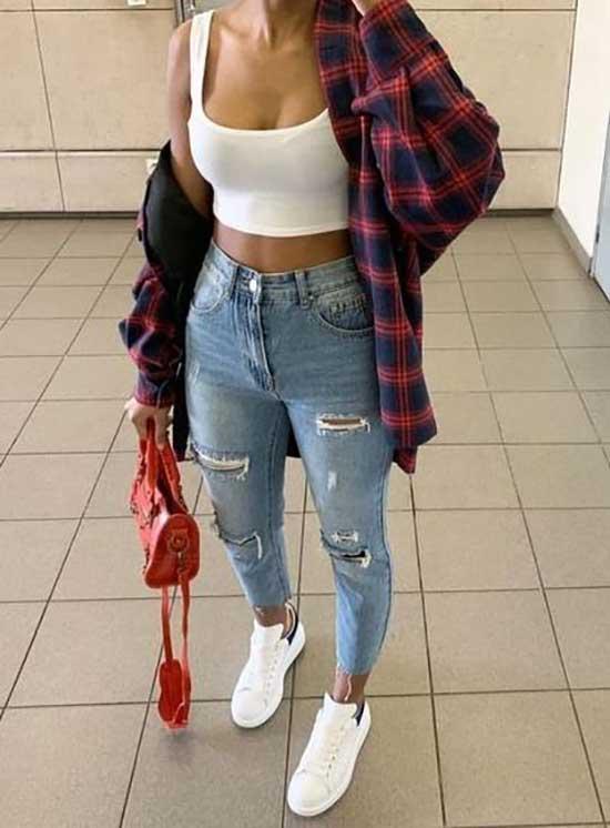 Billie Eilish Flannel Shirt Outfit Ideas