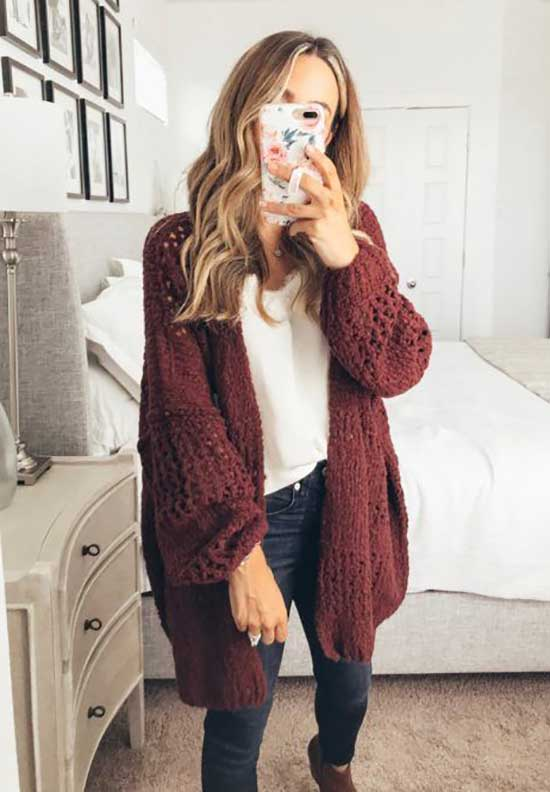Cardigan Outfits