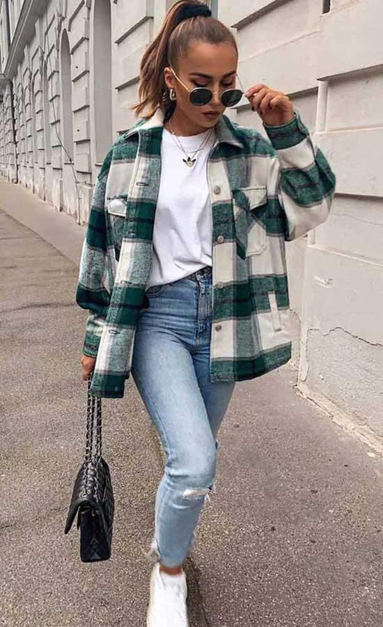 Chic Flannel Shirt Outfit Ideas