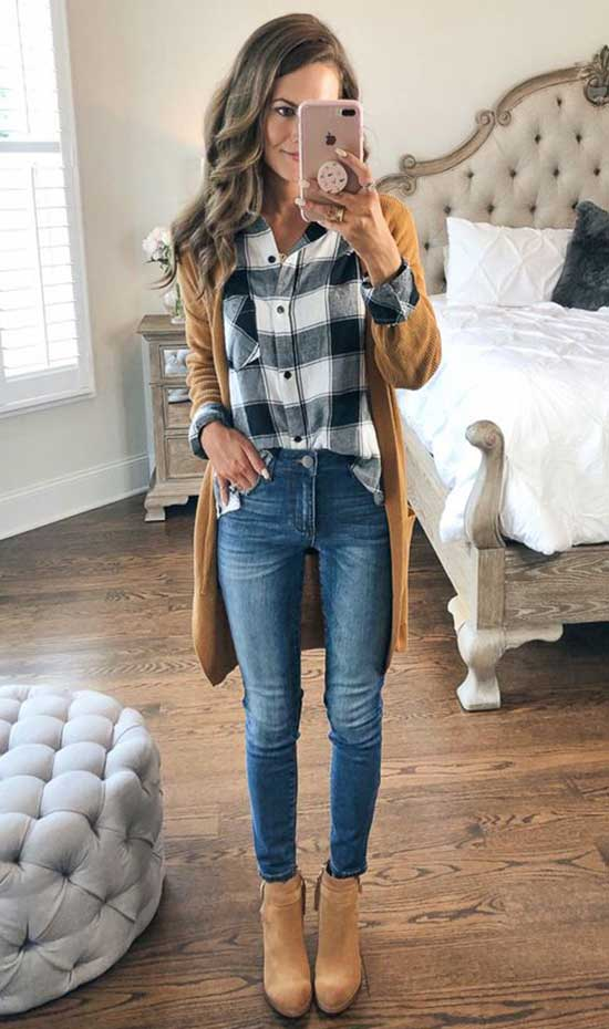 Fall Cardigan Outfits
