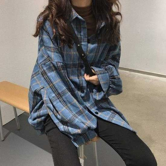 Black Flannel Shirt Outfit Ideas