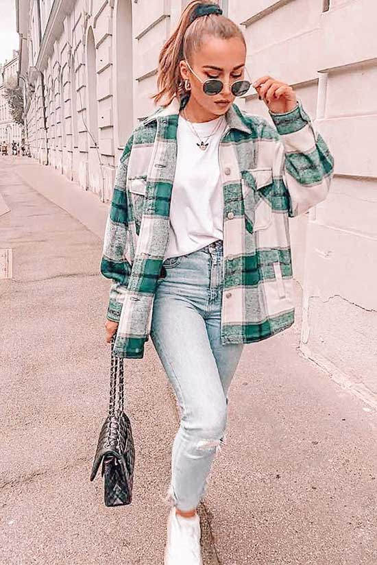 Flannel Shirt Winter Outfit Ideas
