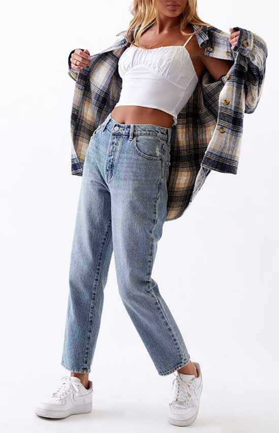Stylish Flannel Shirt Outfit Ideas