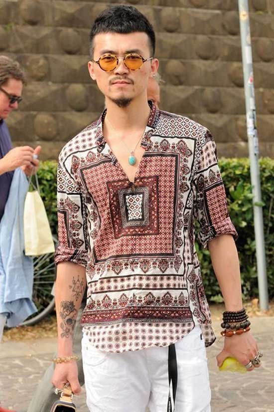 Bohemian Summer Outfits for Men-10