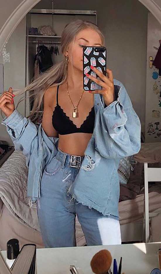 Tiktok Fashion Trends for Blonde Girls-10