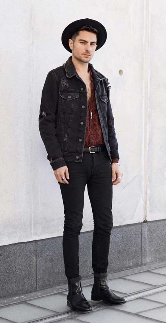 Stylish Bohemian Outfits for Men-11