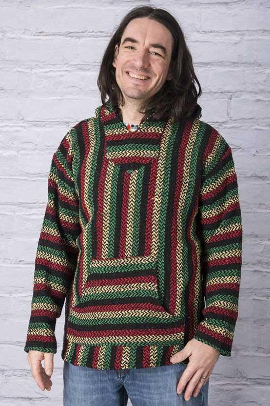 Bohemian Baja Outfits for Men-12
