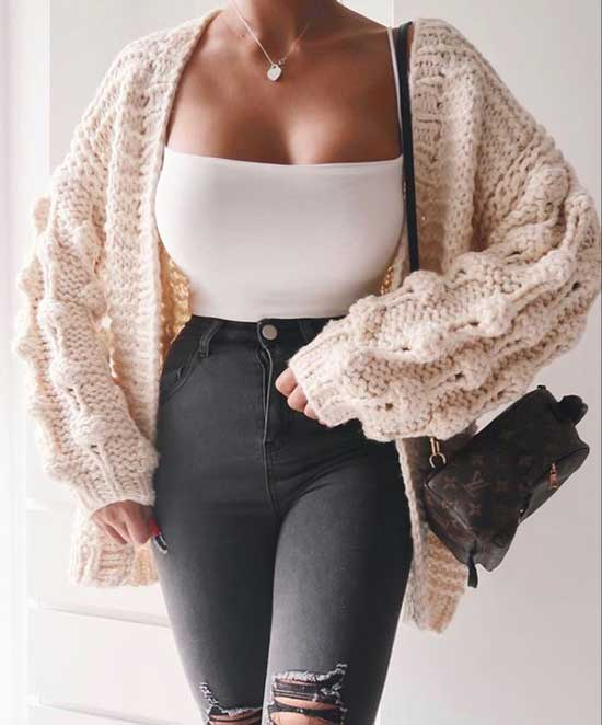 Trendy Cute Fall Outfits 2020-16