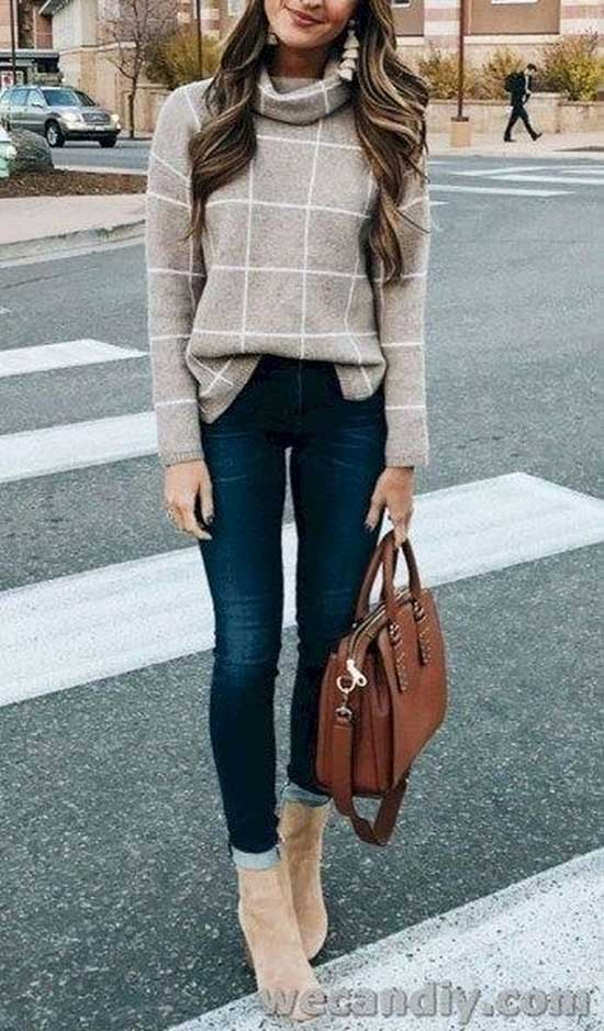 Cute Fall office Outfits 2020-18