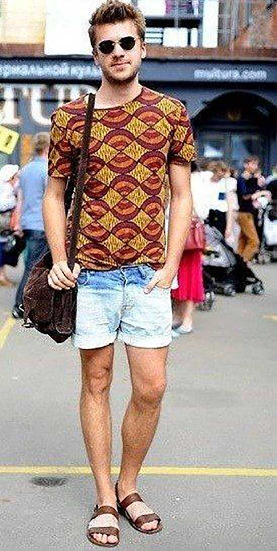 Simple Bohemian Outfits for Men-19