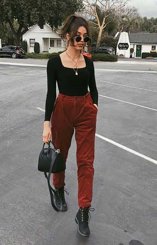 Cute Fall Street Style Outfits 2020-21