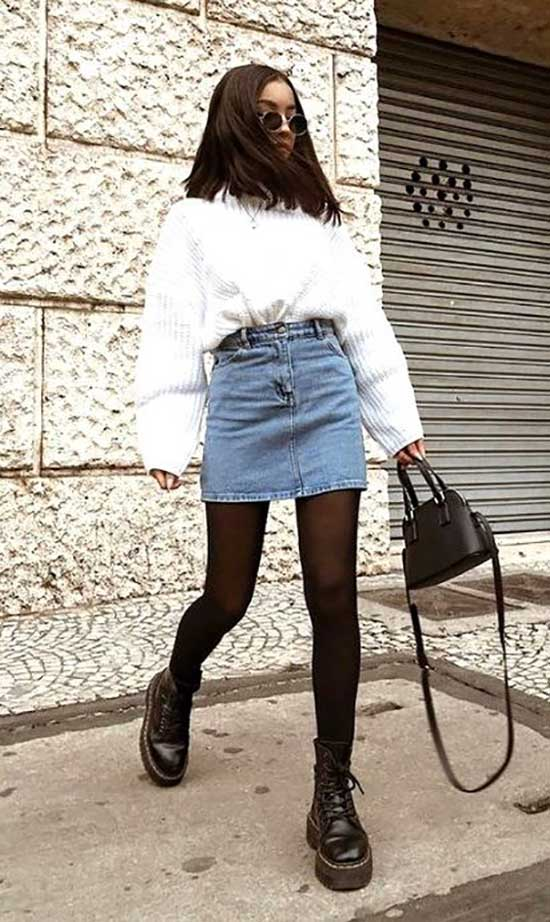 Cute Fall Shorts Outfits 2020-28
