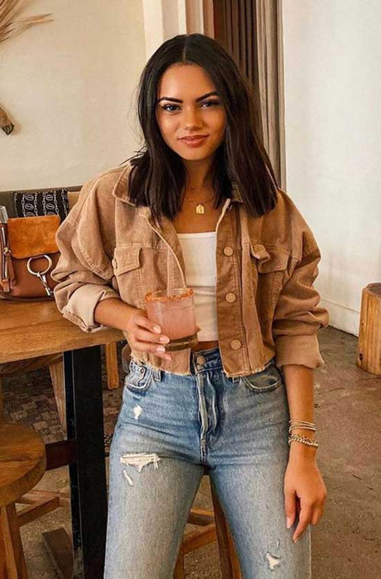 Cute Fall Jacket Outfits 2020-29