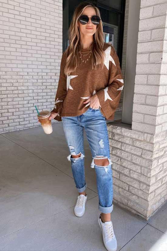 Cute Fall Denim Outfits 2020-6