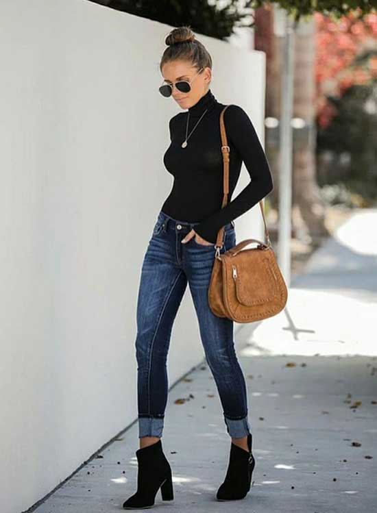 Cute December Denim Outfits