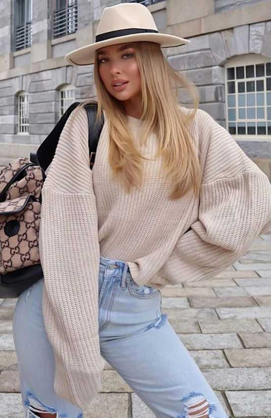 Cute December Jeans Outfits