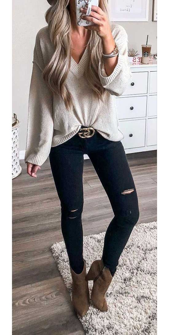 Cute December Layered Outfits