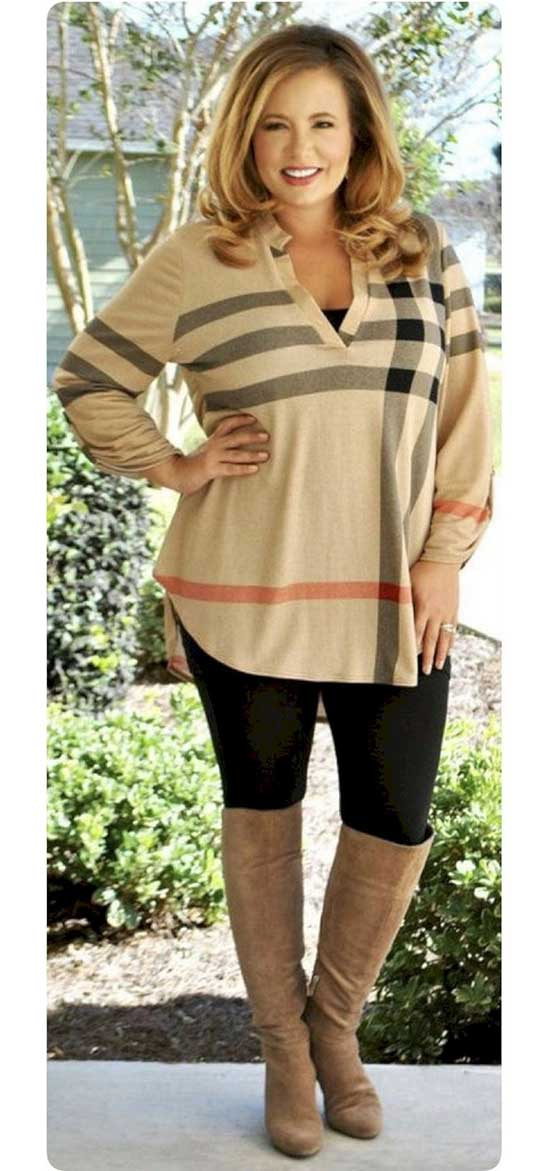 Casual Thanksgiving Plus Size Outfits